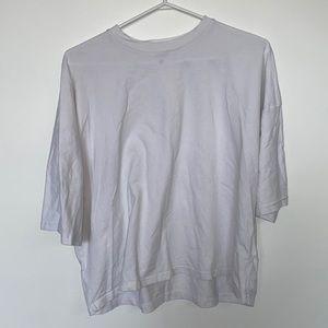 Missguided Oversized Boxy White T Shirt